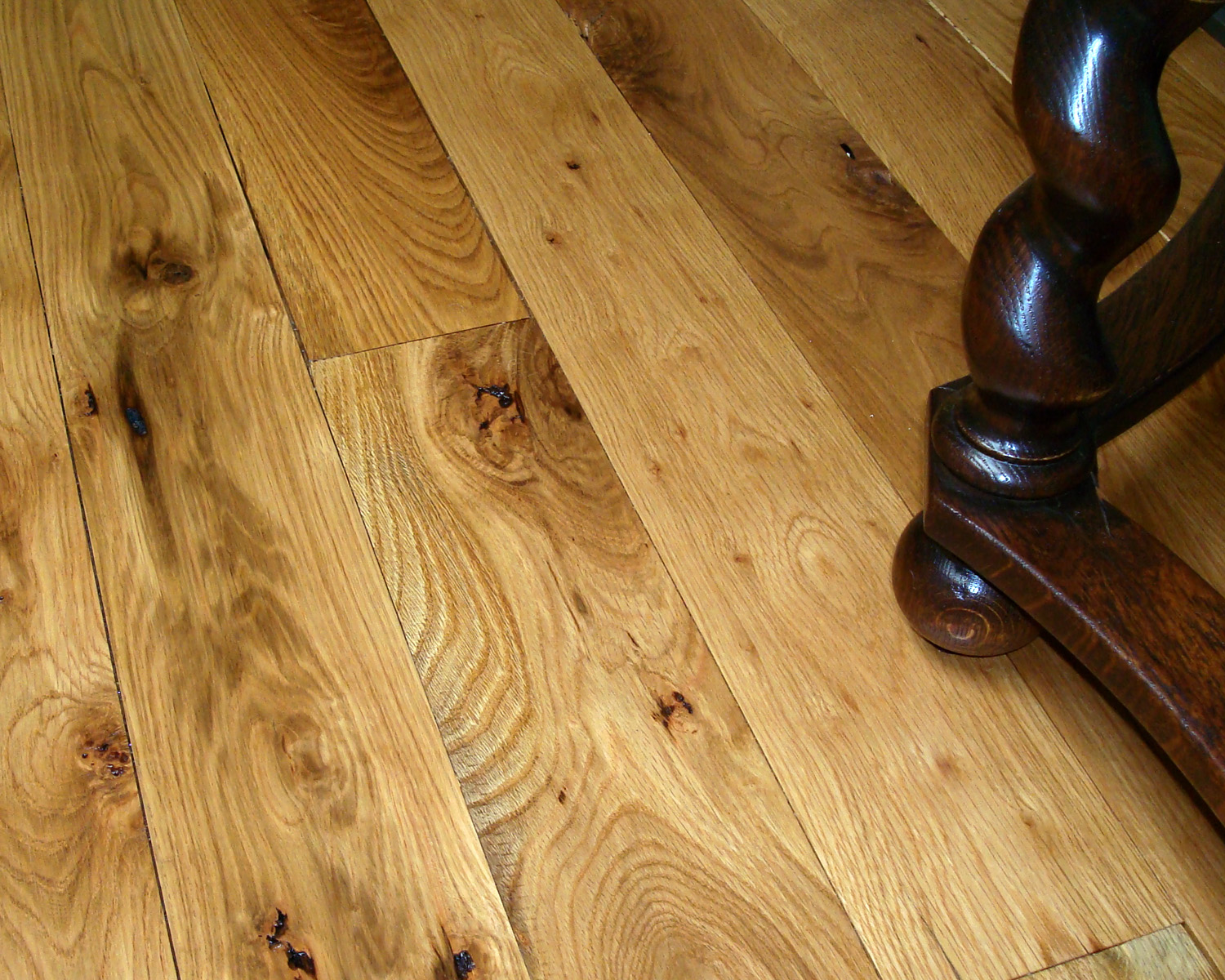 Stepping Up To Wide Plank Flooring