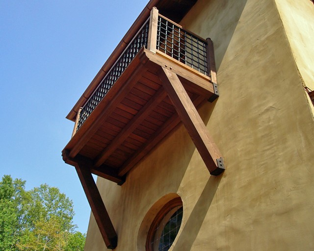 Heavy Timber Construction Framing Balconies Gates