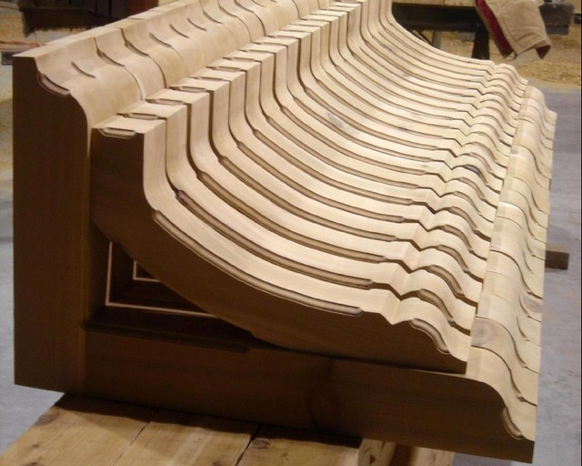 Matching heavy timber brackets & braces