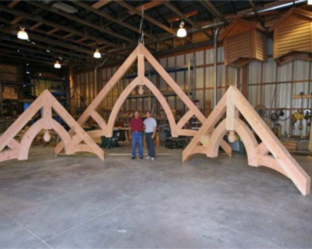 Heavy Timber Trusses Atlanta, GA | Structural & Decorative