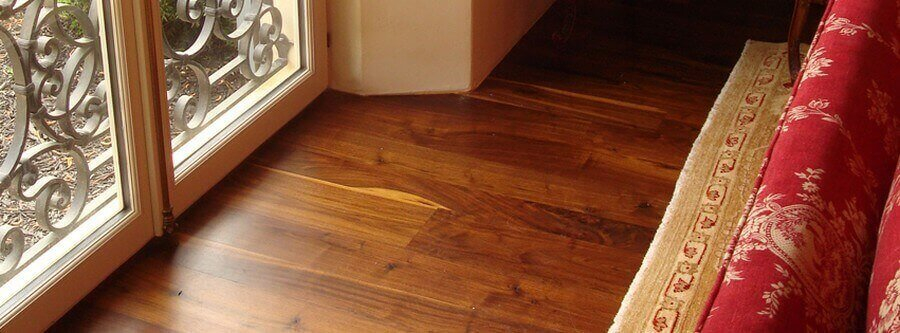 Wide plank Flooring - Walnut