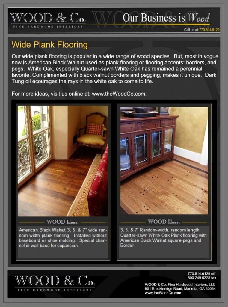 Wood Amp Co Fine Hardwood Interiors Home And Business