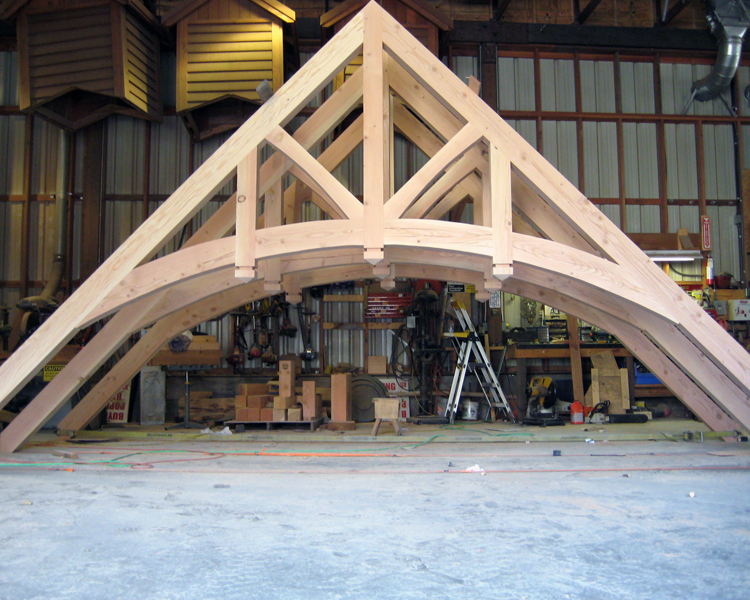 Heavy Timber Trusses Structural And Decorative Trusses