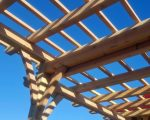 post and beam trellis